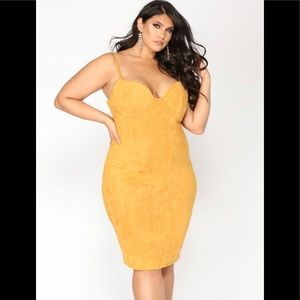 """Brand New""""Ria Suede dress"""" from fashion Nova"""